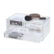 Richards Homewares Clearly Chic 4 Drawer Cosmetic Organizer