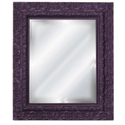 Hickory Manor House Inset Mirror; Purple Rain