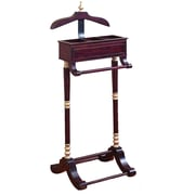 EC World Imports Urban Butler Valet Stand Clothing Rack