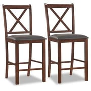 Leick Favorite Finds 25'' Bar Stool with Cushion (Set of 2)
