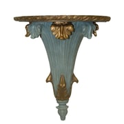 Hickory Manor House Palm Bracket; Aged Blue Gold
