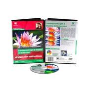Weber Art Jaimie Cordero Watercolor Luminescent Light and Shadow 69 Minute DVD