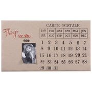 Wilco Home Eternal Wall Mounted Calendar/Planner Bulletin Board, 1' x 2'
