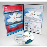 Weber Art Catherine Bonnie Jones Beginning Watercolor Magnolia 1 Hour DVD