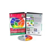 Weber Art Cordero Watercolor Split Primary Color Wheel 68 Minute DVD