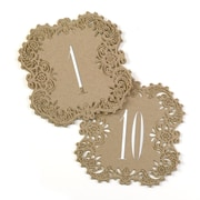 Hortense B. Hewitt Kraft Laser Cut Table Number Cards