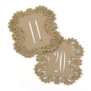 Hortense B. Hewitt Laser Cut Table Number Cards 11 - 20