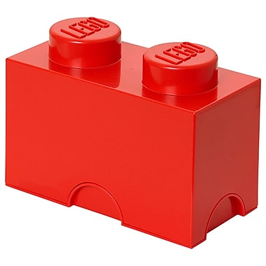 LEGO® Stackable Storage Brick 2, Red