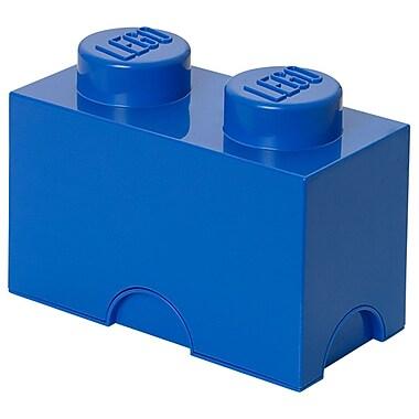 LEGO® Stackable Storage Brick 2, Blue