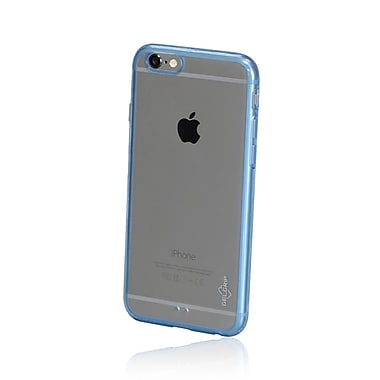 GelGrip iPhone 6 Acrylic & TPU Trim Case, Clear/Blue