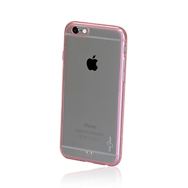 GelGrip iPhone 6 Acrylic & TPU Trim Case, Clear/Pink