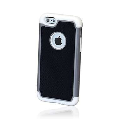 GelGrip iPhone 6 TrioKase Plastic Shell, Black/Grey