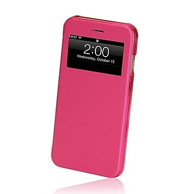 GelGrip iPhone 6 Flip Case with Viewing Window, Pink