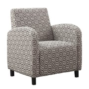 Monarch Specialties Inc. I 8044 Fabric Accent Chair, Gray