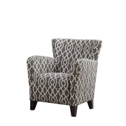 Monarch Specialties Inc. I 8071 Fabric Club Chair, Brown