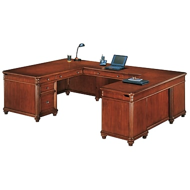 "DMI fice Furniture Antigua 30"" Wood Veneer"