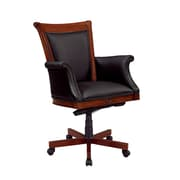 DMI Office Furniture Antigua 7480835 Leather Executive Chair, Cherry