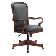 DMI Office Furniture 6000841 Leather Desk Chair, Cherry