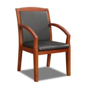 DMI Office Furniture Bently 65102013FP Fabric Guest Chair, Cognac Cherry