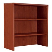 DMI Office Furniture Fairplex 7005328 2-Door Open Overhead Storage, Cognac Cherry