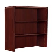 DMI Office Furniture Fairplex 7006328 2-Door Open Overhead Storage, Mahogany