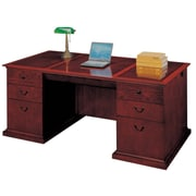 "DMI Office Furniture Del Mar 730236 30"" Wood/Veneer Executive Desk, Sedona Cherry"