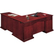 "DMI Office Furniture Del Mar 730247 30"" Wood/Veneer Right Executive L Desk, Sedona Cherry"