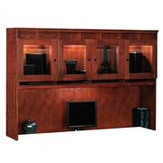 DMI Office Furniture Del Mar 73026251 3-Cabinet Overhead Storage, Sedona Cherry
