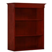 "DMI Office Furniture Del Mar 7302148 45"" Wood/Veneer Open Bookcase, Sedona Cherry"