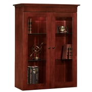 dmi office furniture del mar 7302248 4825 woodveneer closed bookcase sedona cherry cherry office furniture