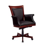 DMI Office Furniture Del Mar 7302835 Leather Executive Chair, Cherry