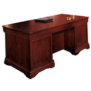 DMI Office Furniture Rue de Lyon 768434A 30 Veneer Executive Desk, Chocolate Patina