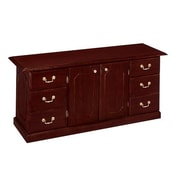 "DMI Office Furniture Governors 735020 30"" Laminate Executive Credenza, Mahogany"