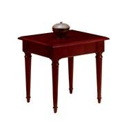 "DMI Office Furniture Keswick 799010 24"" Veneer Square End Table, English Cherry"