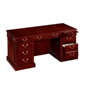 "DMI Office Furniture Keswick 799030 30"" Veneer Executive Desk, English Cherry"