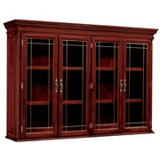 DMI Office Furniture Keswick 7990464 2-Door Overhead Storage, Glass Doors