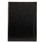 Markings Large Textured Journal, Black