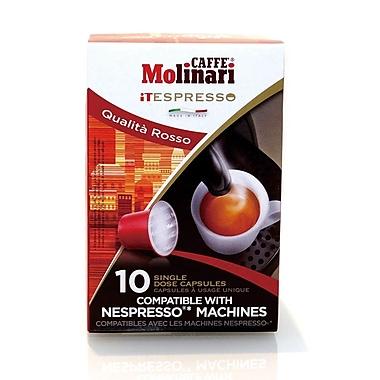 Caffe Molinari Caffe Molinari iTespresso, Rosso, 120/Pack