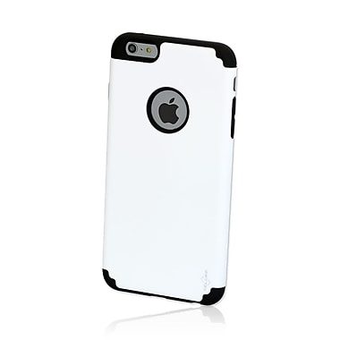 GelGrip iPhone 6 DualKase Shell Cover, White/Black