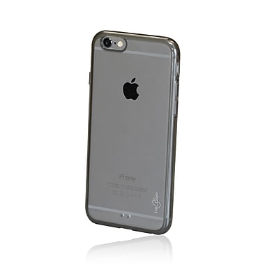 GelGrip iPhone 6 Acrylic & TPU Trim Case, Clear/Smoke