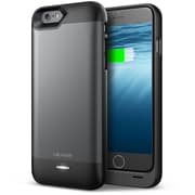 "i-Blason UnityPower Rechargeable External Battery Case For 4.7"" iPhone 6, Black/Gray"