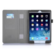 i-Blason Leather Slim Book Case For iPad Air 2, Black