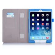 i-Blason Leather Slim Book Case For iPad Air 2, Blue