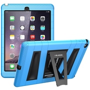 i-Blason Armorbox 2 Layer Full-Body Protection KickStand Case For iPad Air 2, Blue/Black
