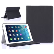 SUPCase Premium Slim Leather Hard Shell Case For iPad Air 2, Black