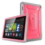 SUPCase Unicorn Beetle Pro Full-Body Protective Case For 7 Amazon Kindle Fire HD, Pink/Gray
