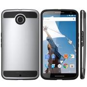i-Blason Unity Dual Layer Ultra Slim Armored Hybrid Case For Google Nexus 6, Gun Metal Gray