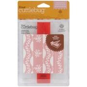 Cuttlebug A2 Embossing Folder & Border, Organdy Stripe