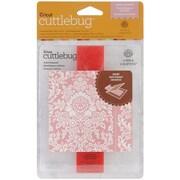 Cuttlebug A2 Embossing Folder & Border, Juliet Damask
