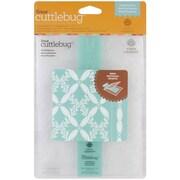 Cuttlebug Cricut Embossing Folder & Border, Climbing Rose